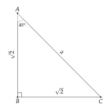45 45 üçgeni